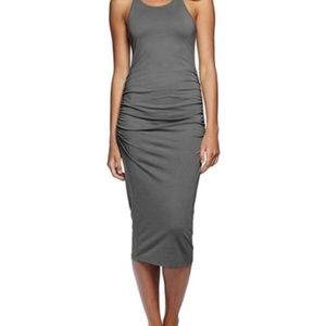 MICHAEL STARS Ruched Racerbck Dress-Size MP